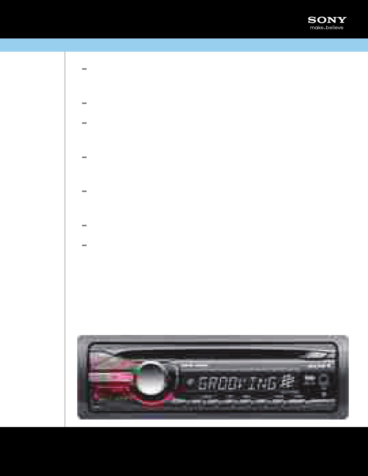 sony cdx gt25mpw marketing specifications sony xplod wiring-diagram sony cdx gt25mpw wiring diagram radio #7