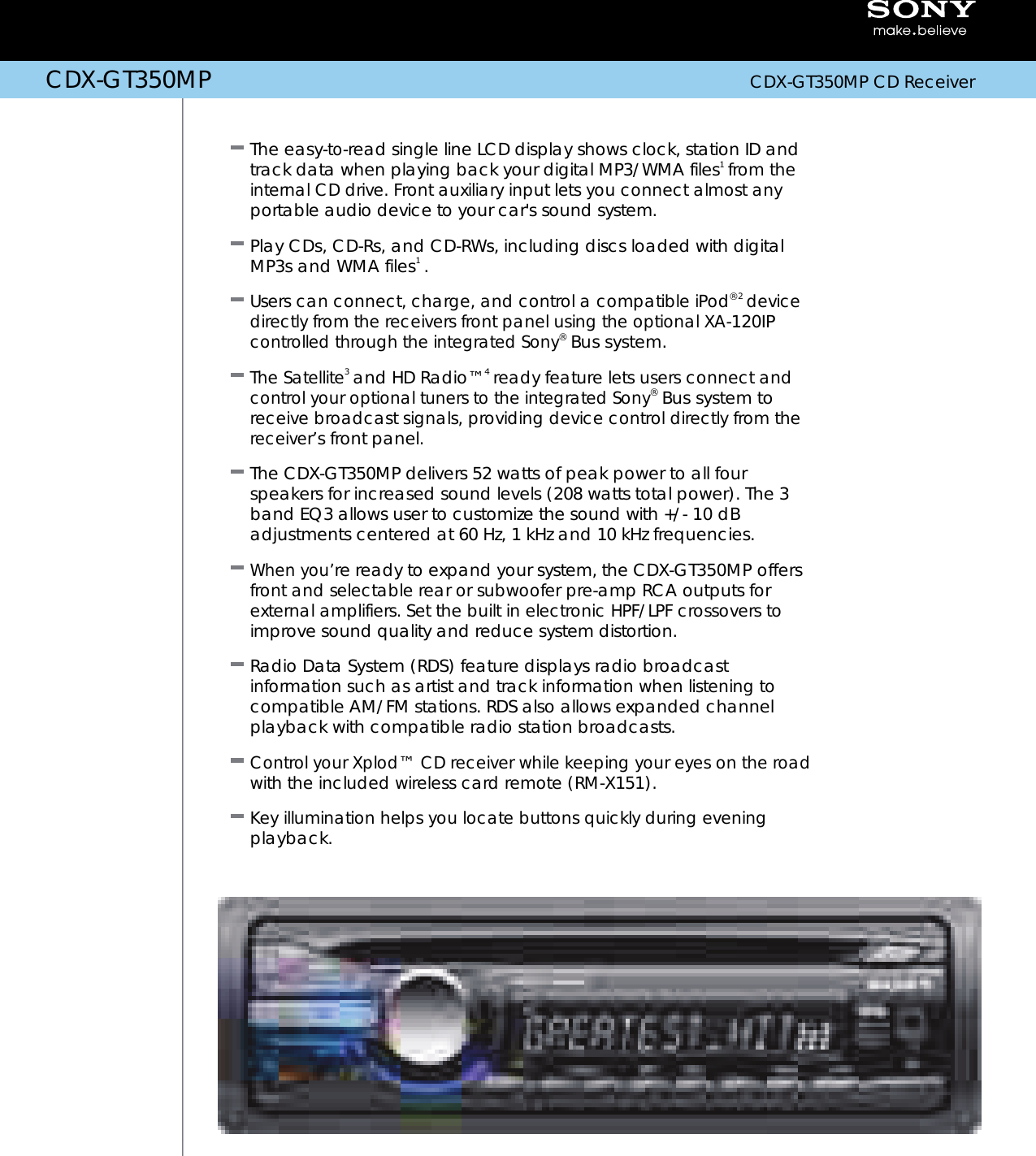sony cdx gt350mp users manual  usermanual.wiki