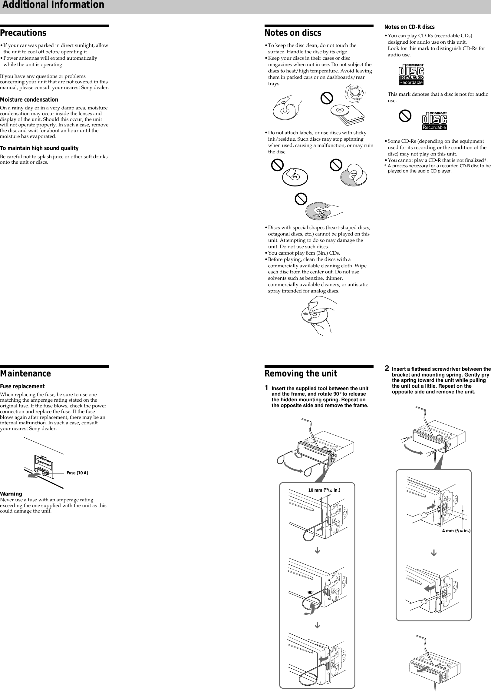 Sony Cdx L250 Wiring Diagram For Schematic Diagrams Pioneer Cd Player On Xplod Gt210 Users Manual Deh