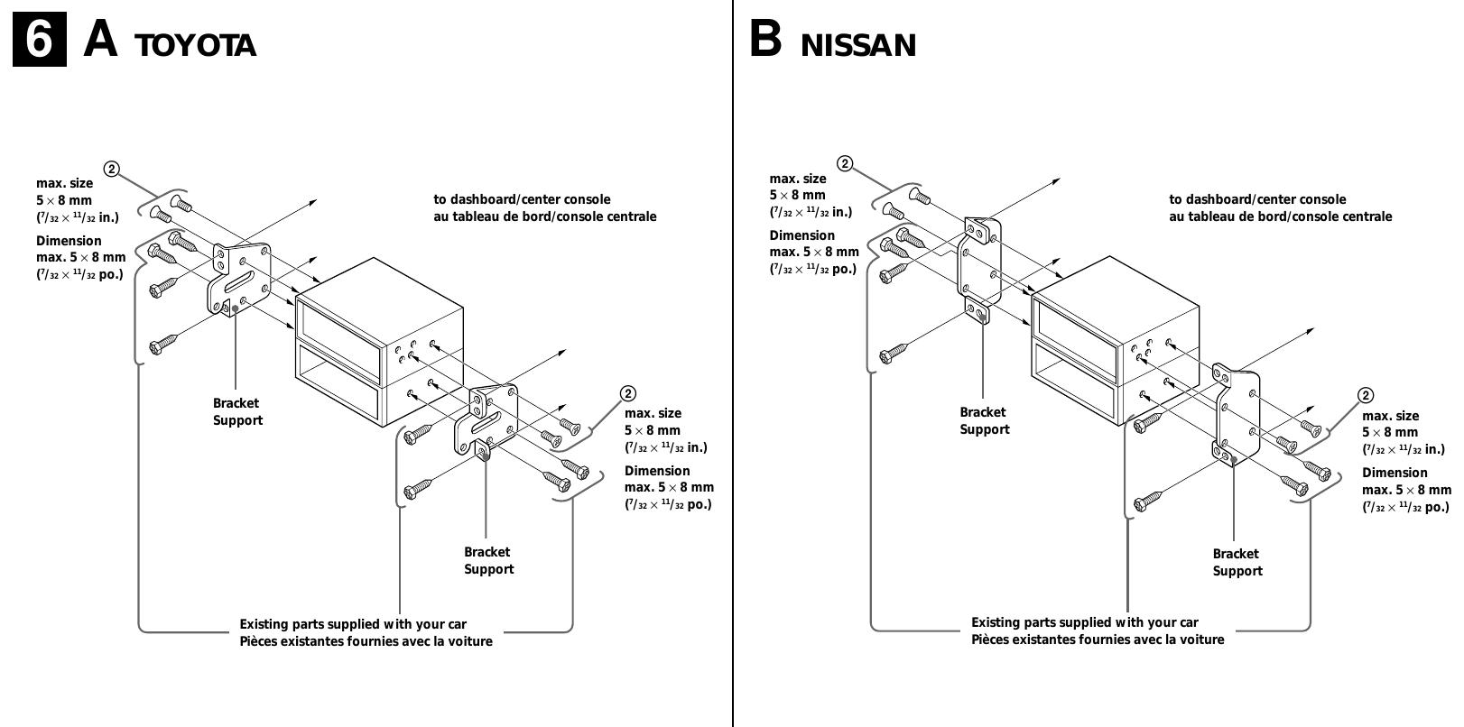 Sony Cdx L600X Installation InstructionsUserManual.wiki
