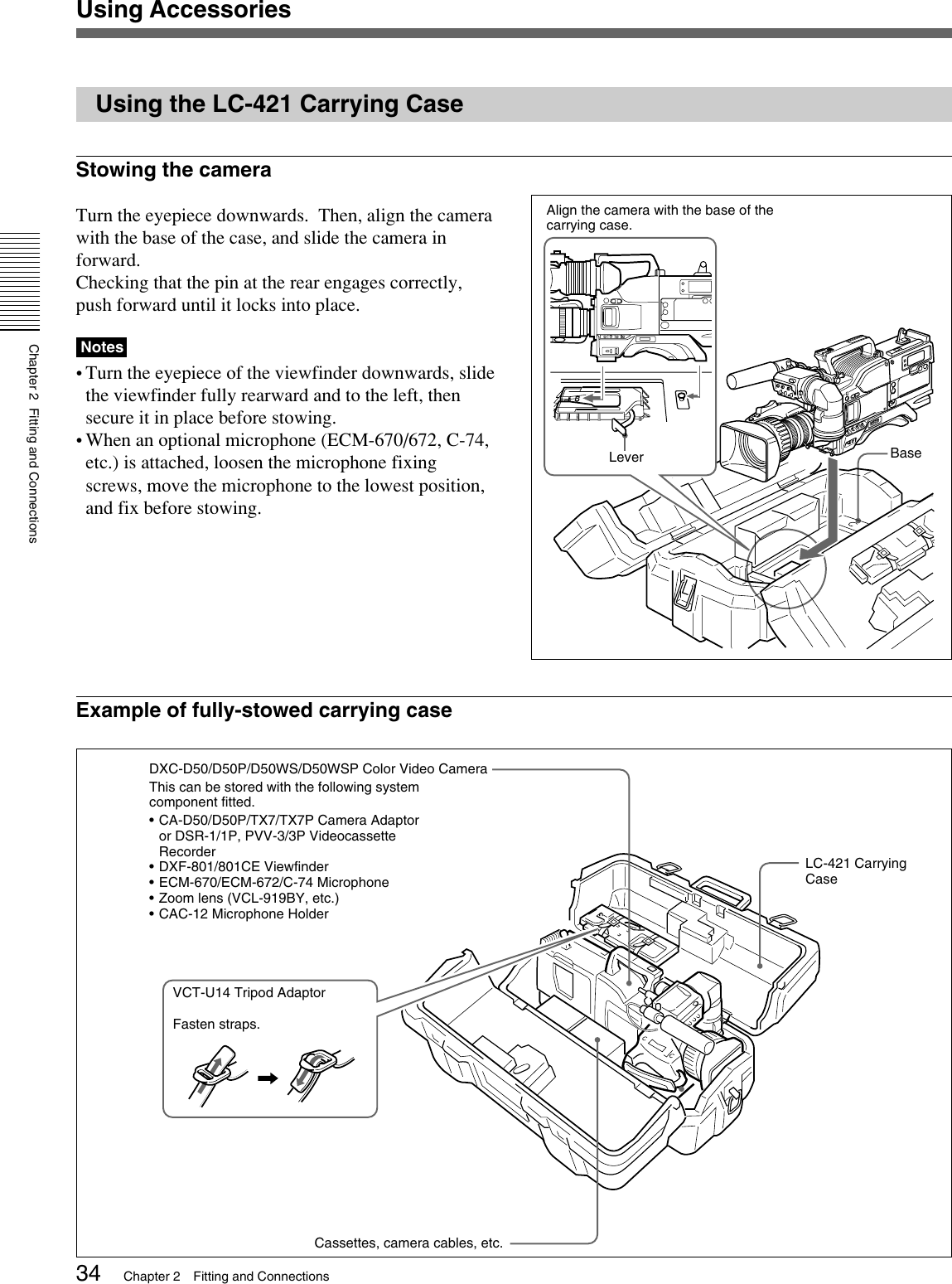 Sony D50Ph Users Manual DXC D50/D50WS