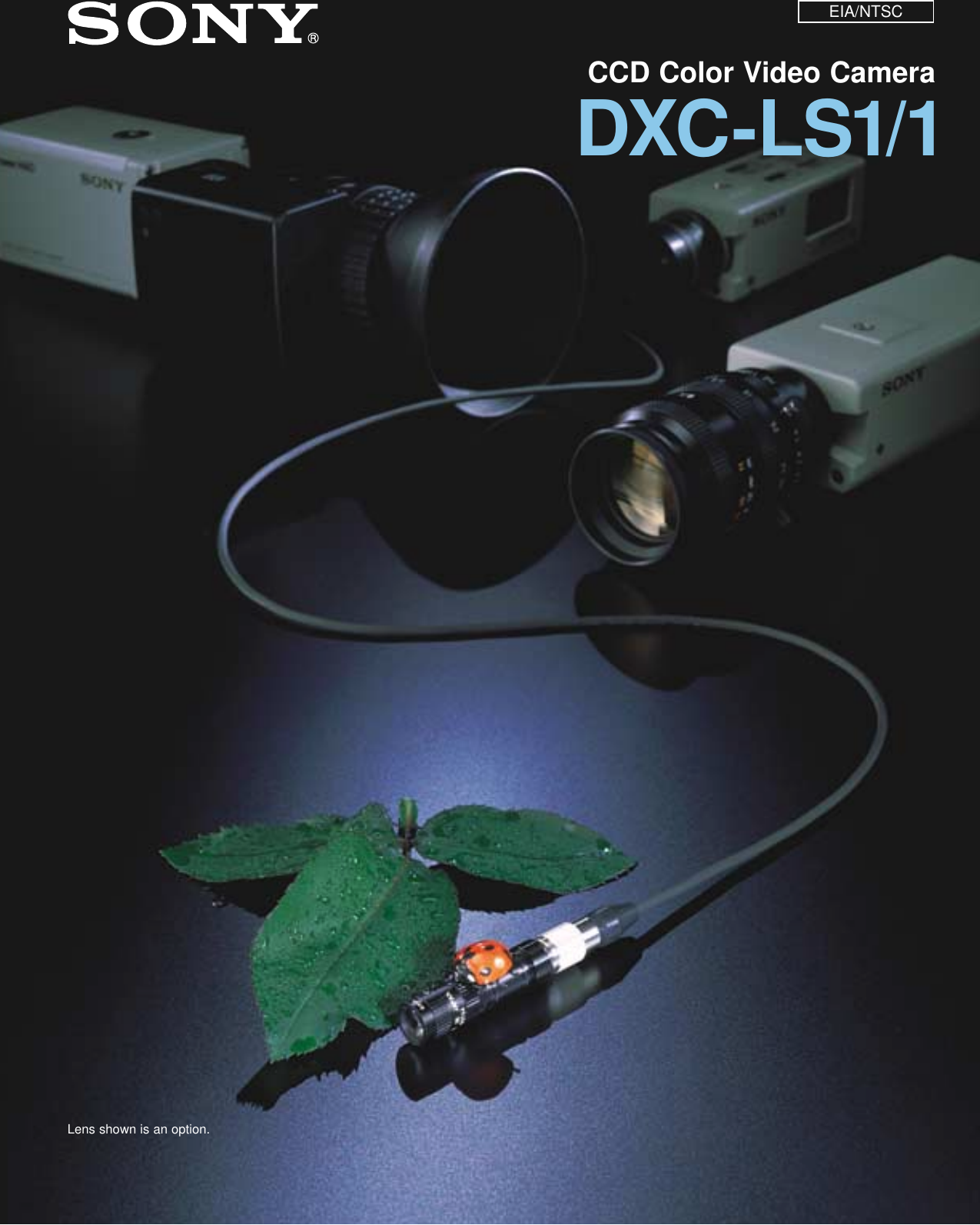 Sony dxc ls1 1 users manual sciox Choice Image