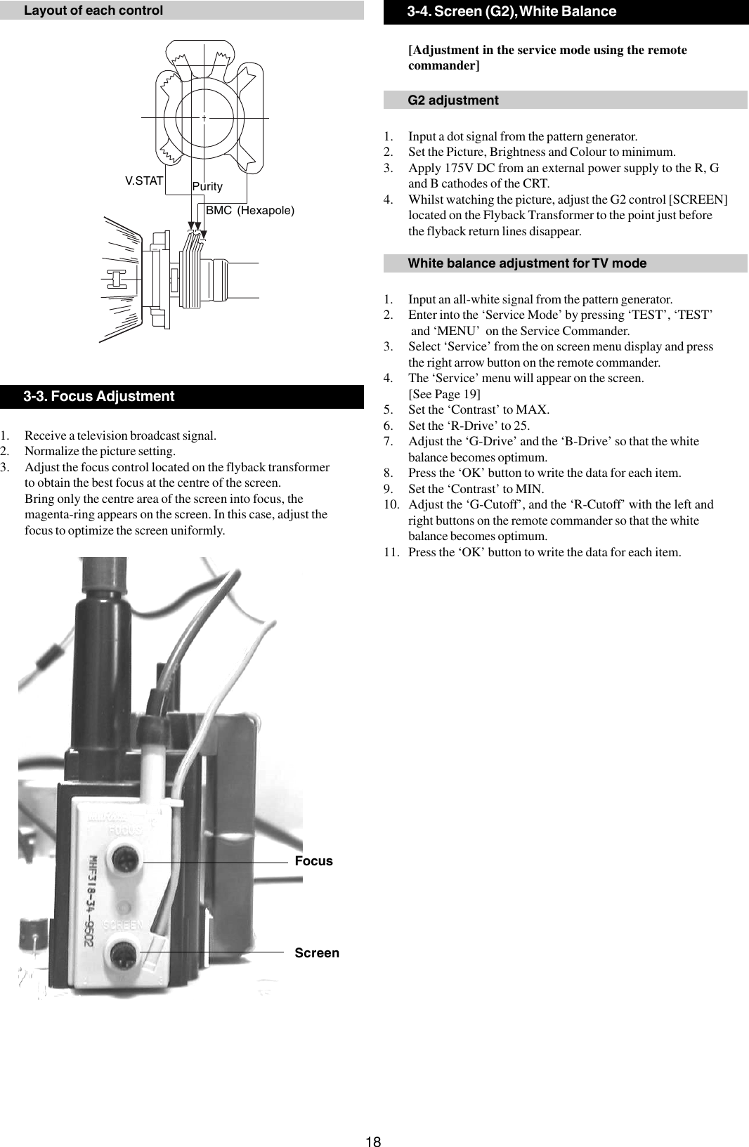 Sony Fd Trinitron Kv 21Fx30B Users Manual