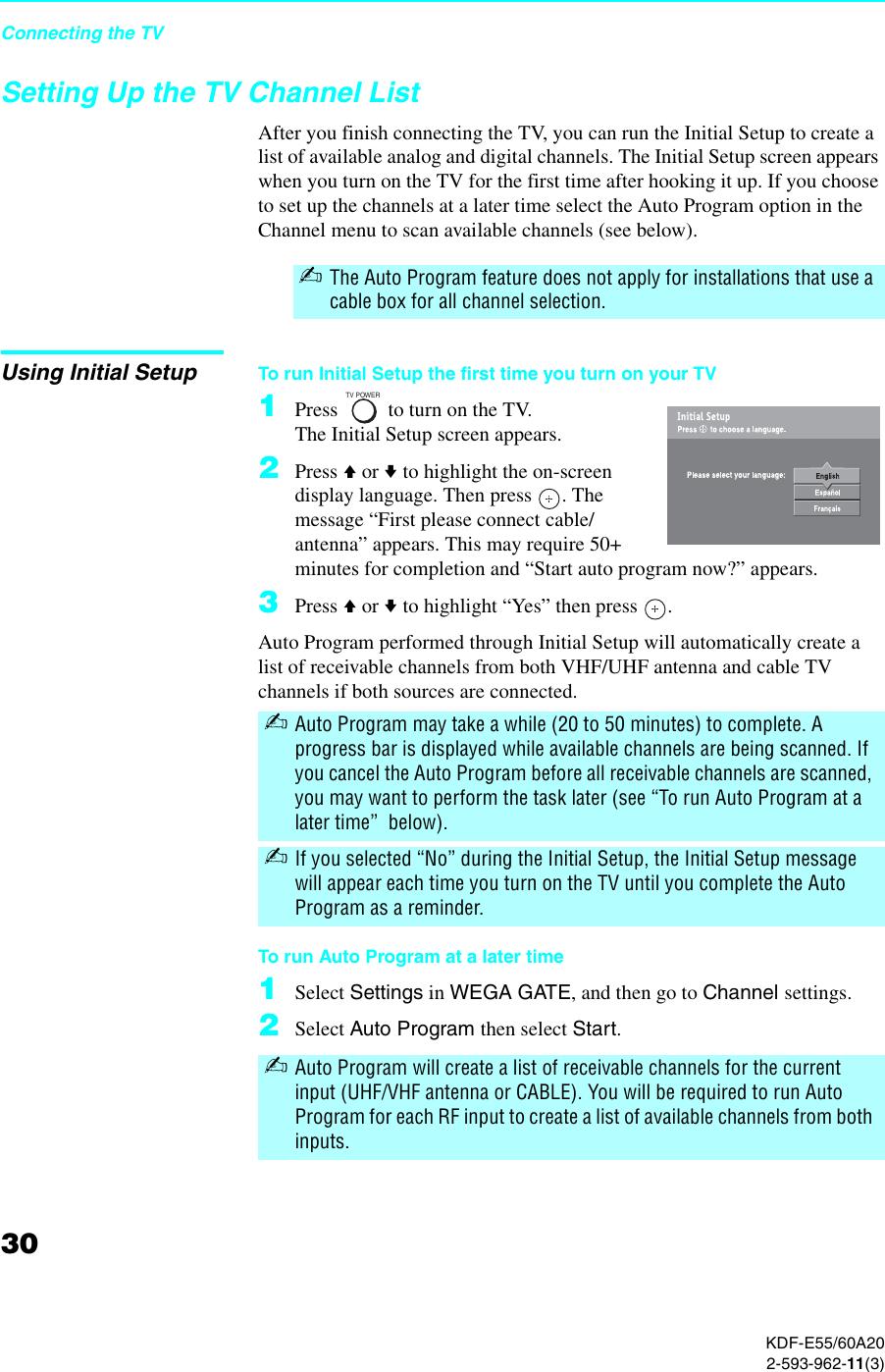 Sony Grand Wega Kdf E60A20 Users Manual E55/60A20