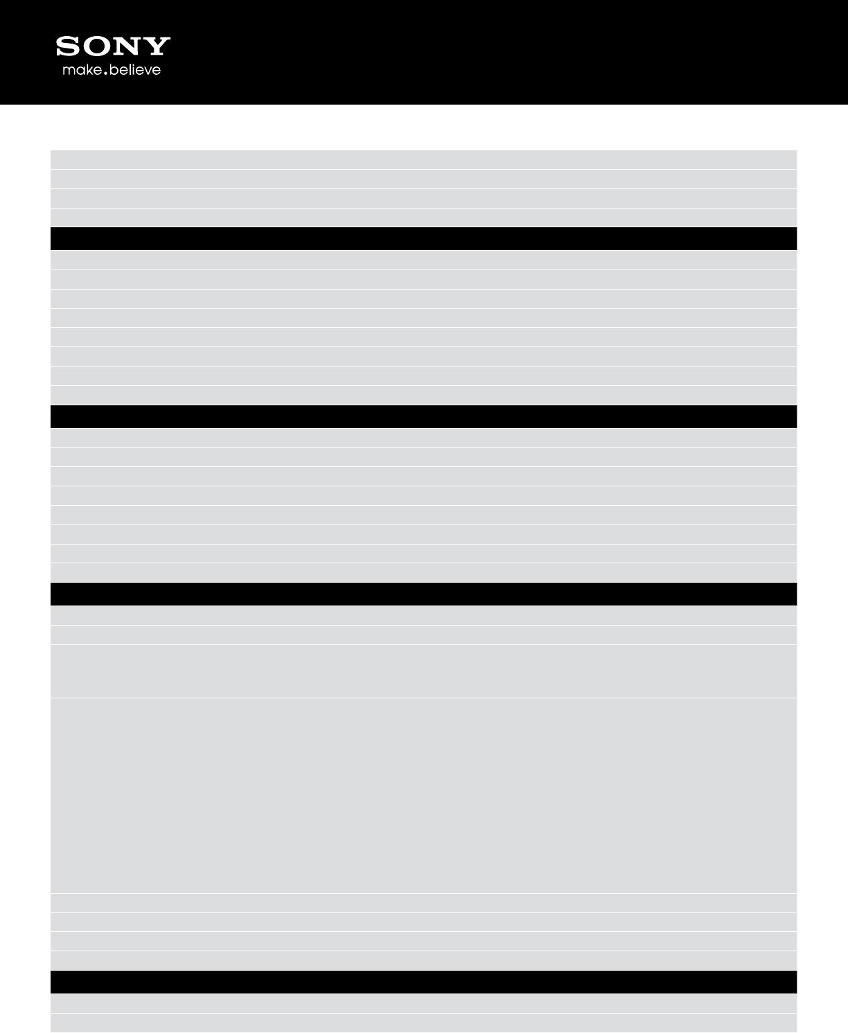 sony mex bt4000p marketing specifications Sony Radio Wiring Diagram