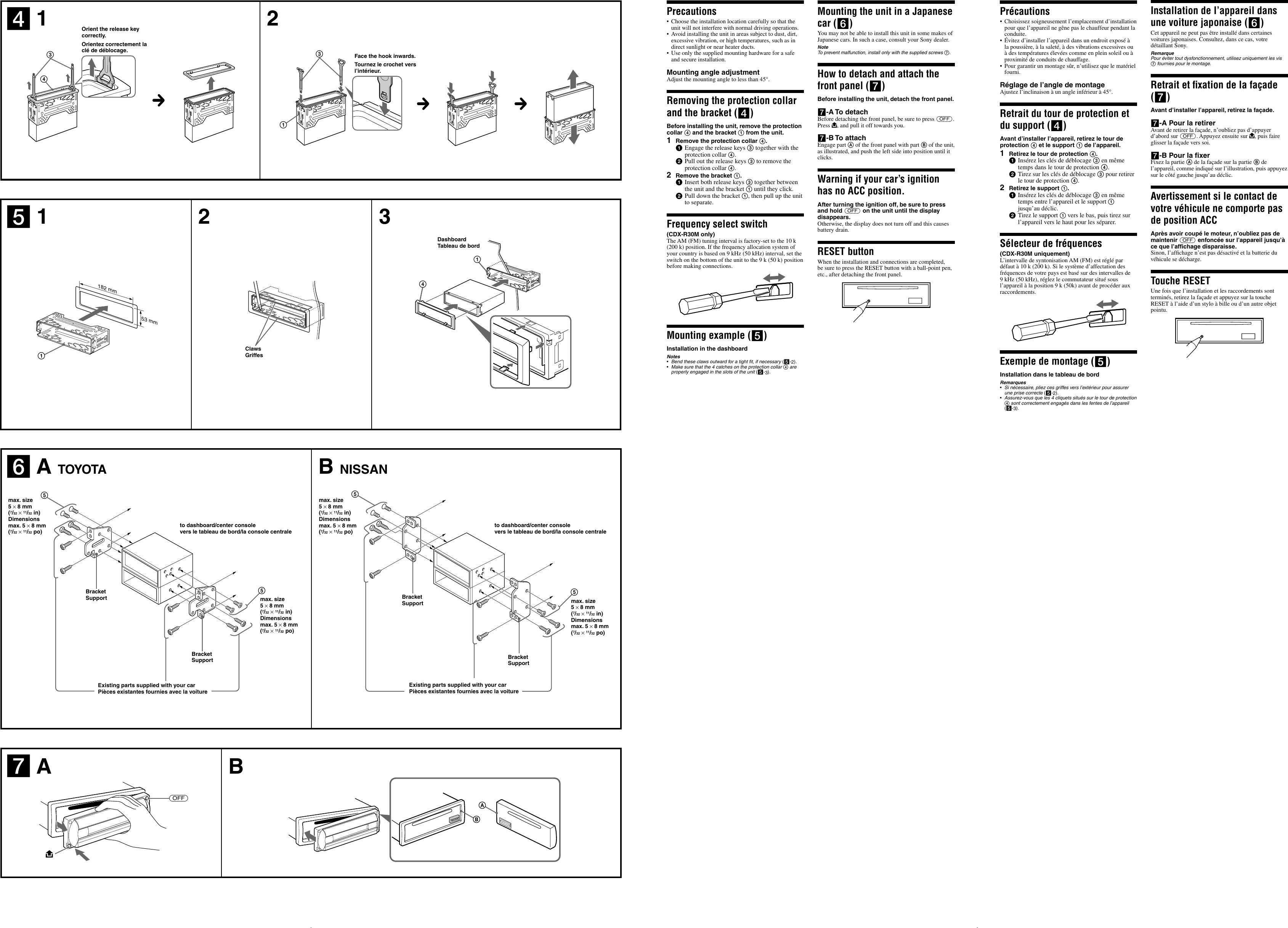 Sony Cdx R30m Users Manual R3310