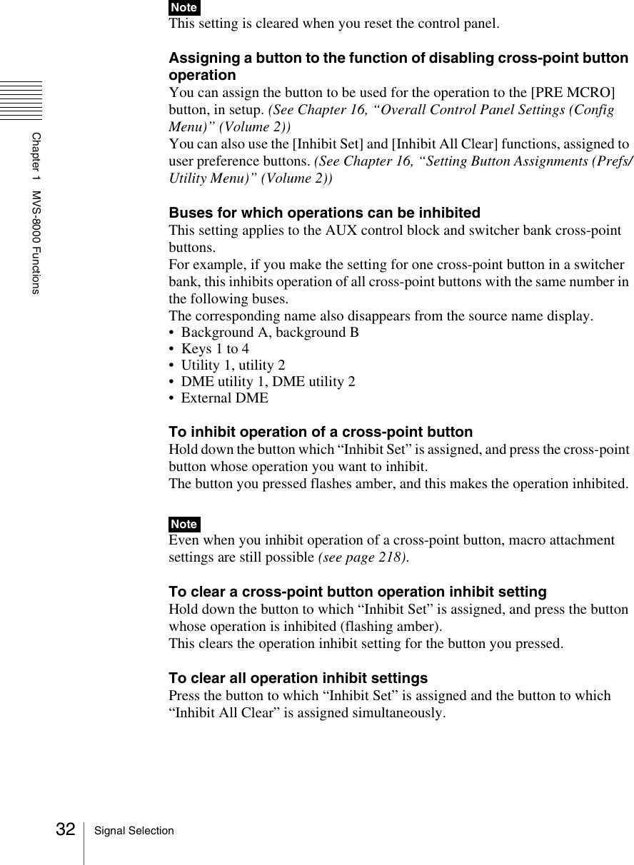 Sony Switch 8000Sf Users Manual MVS 8000/8000SF System