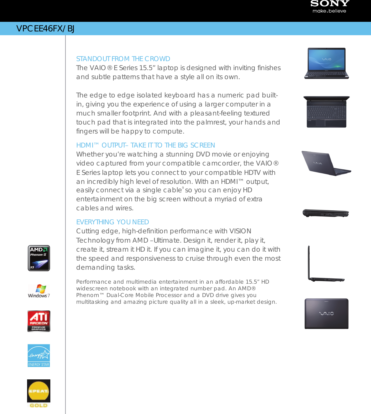 DOWNLOAD DRIVERS: SONY VAIO VPCEE46FXBJ TOUCHPAD SETTINGS