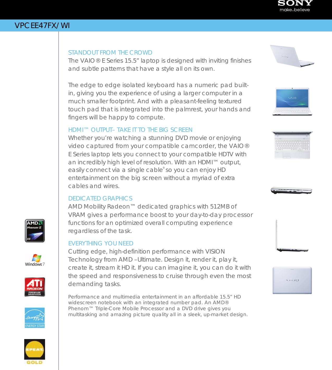SONY VAIO VPCEE47FXWI ATI MOBILITY RADEON HD GRAPHICS DRIVERS FOR WINDOWS 8