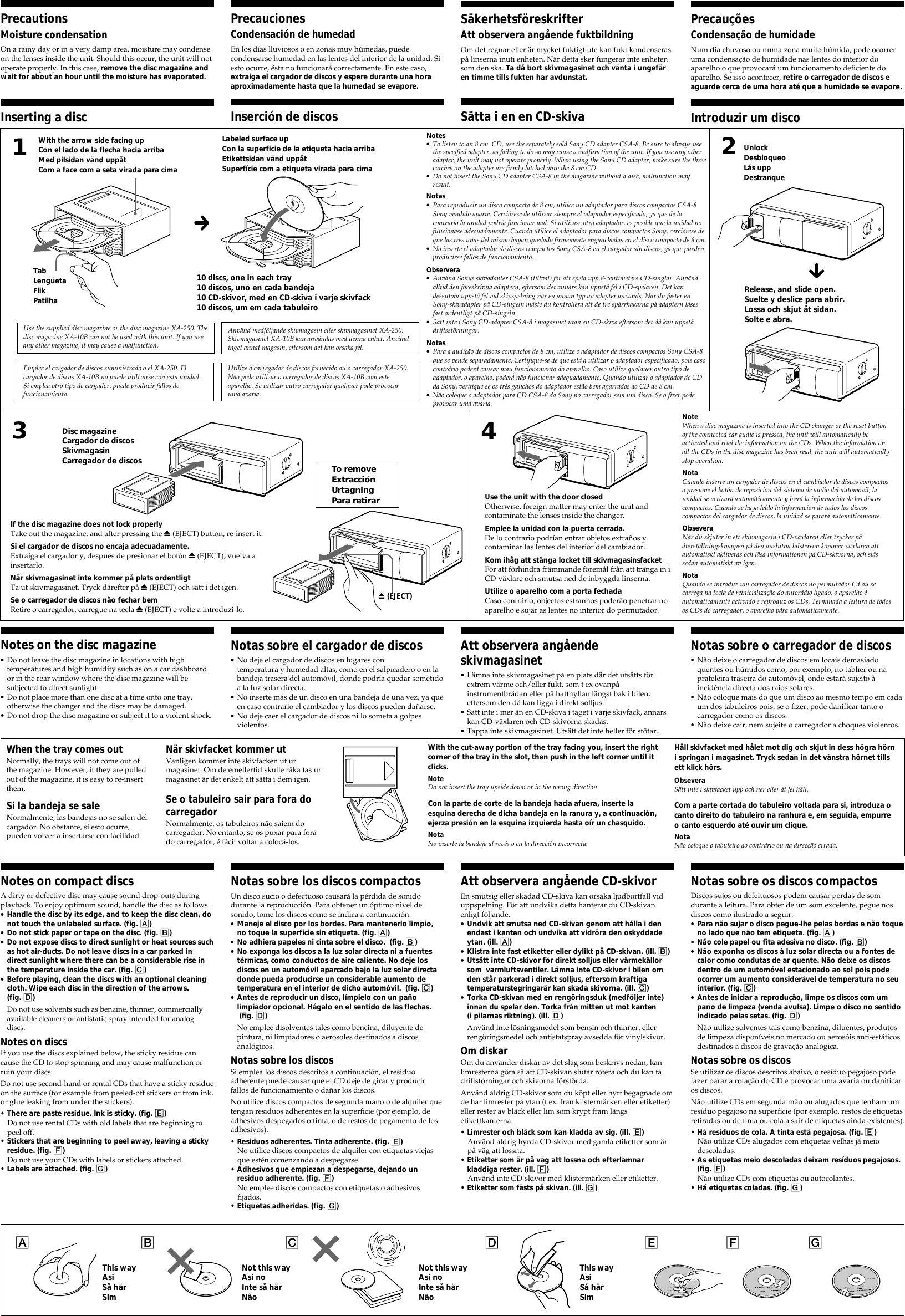 Sony Xplod Cdx 737 Users Manual 601 Page 2 Of 3