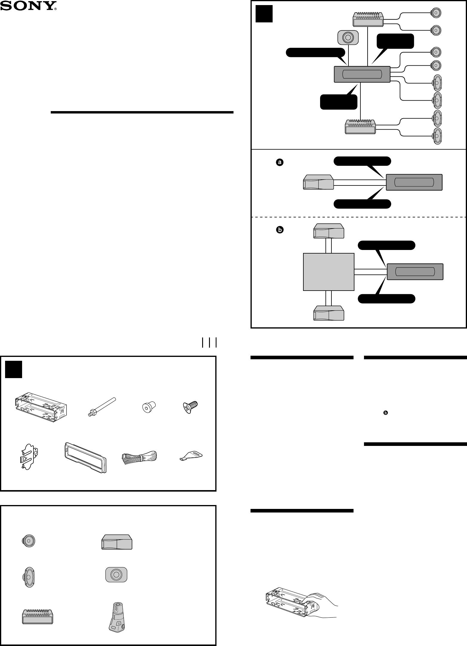 [DIAGRAM_1CA]  Sony Xplod Cdx M630 Users Manual M730_M630 | Wiring Diagram Sony Cdx M630 |  | UserManual.wiki