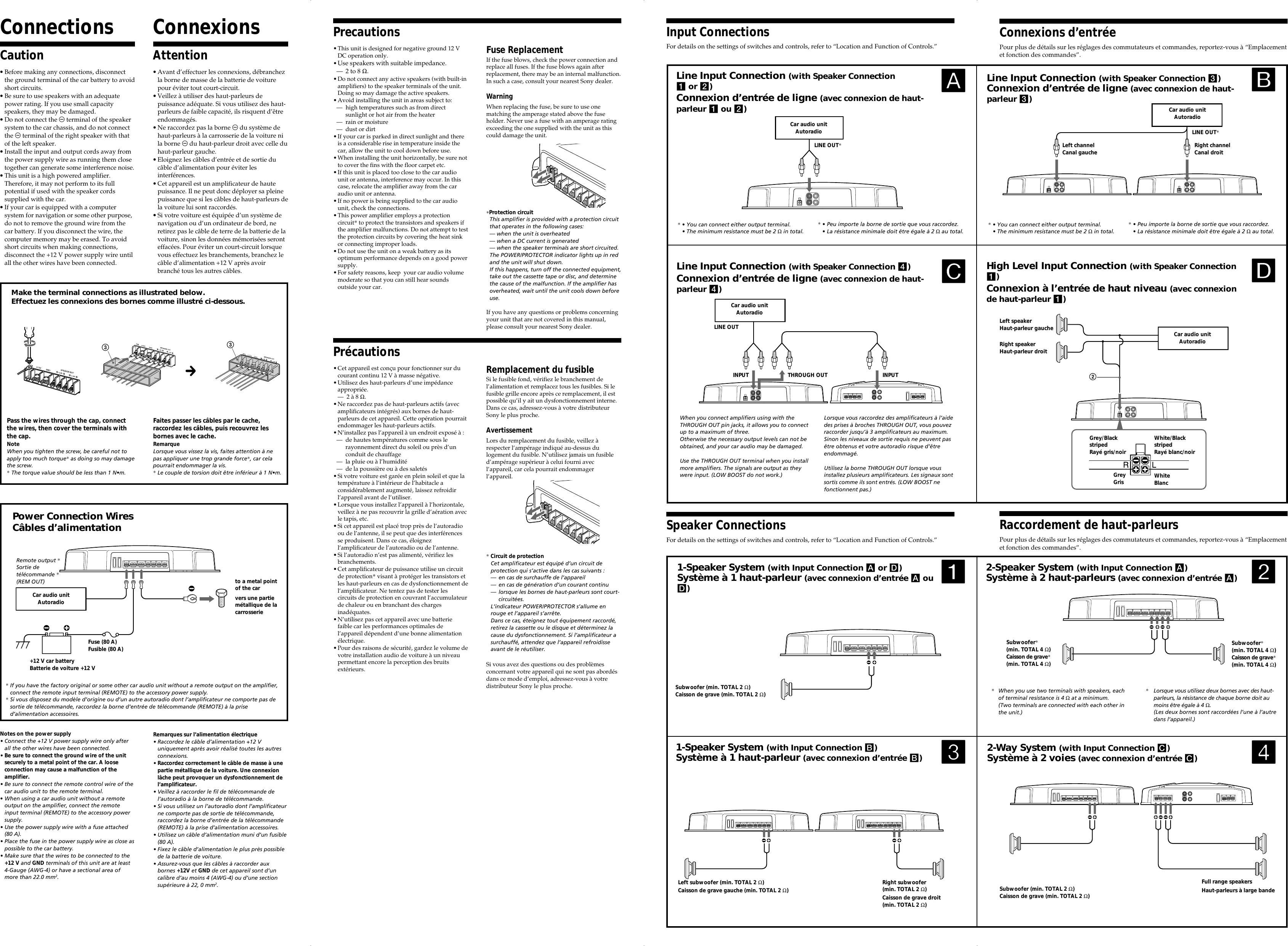 Sony Xplod Xm D400p5 Users Manual Page 2 Of