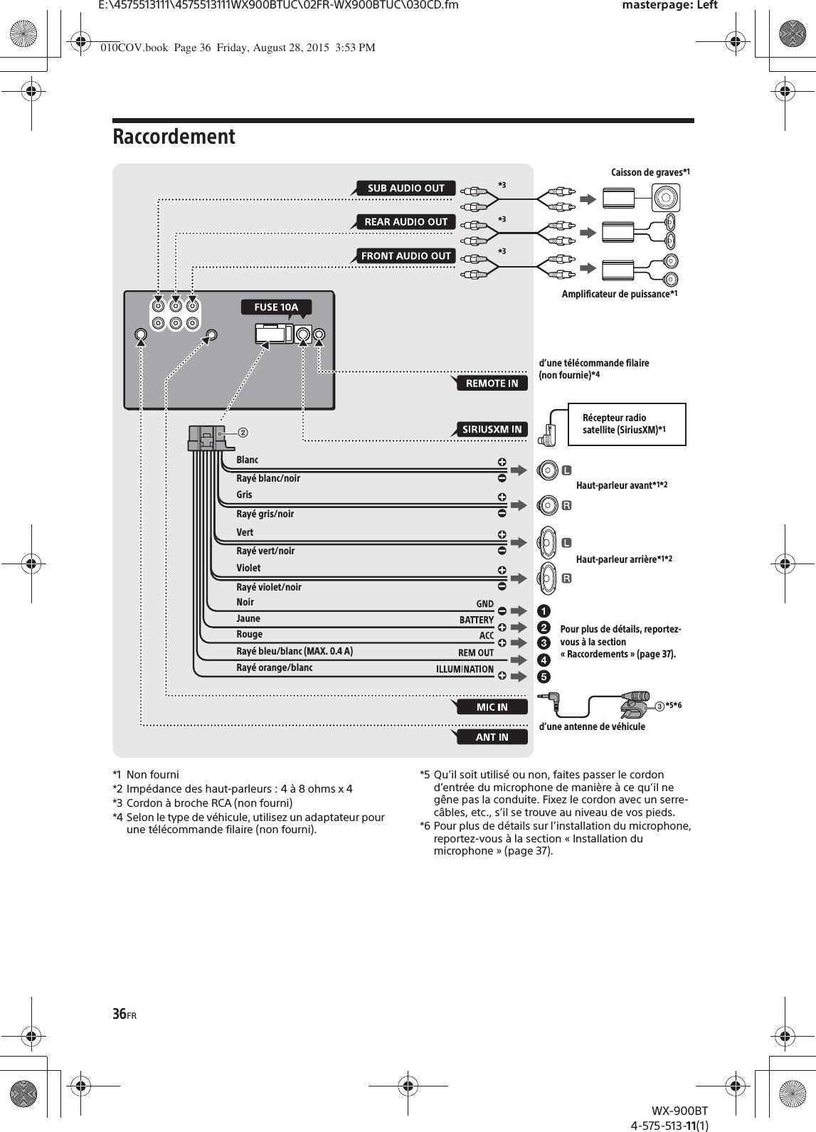 Sony Wx 900bt Wiring Harness Diagram Mex N5100bt Wx900bt Bluetooth Audio System User Manual 900btrh