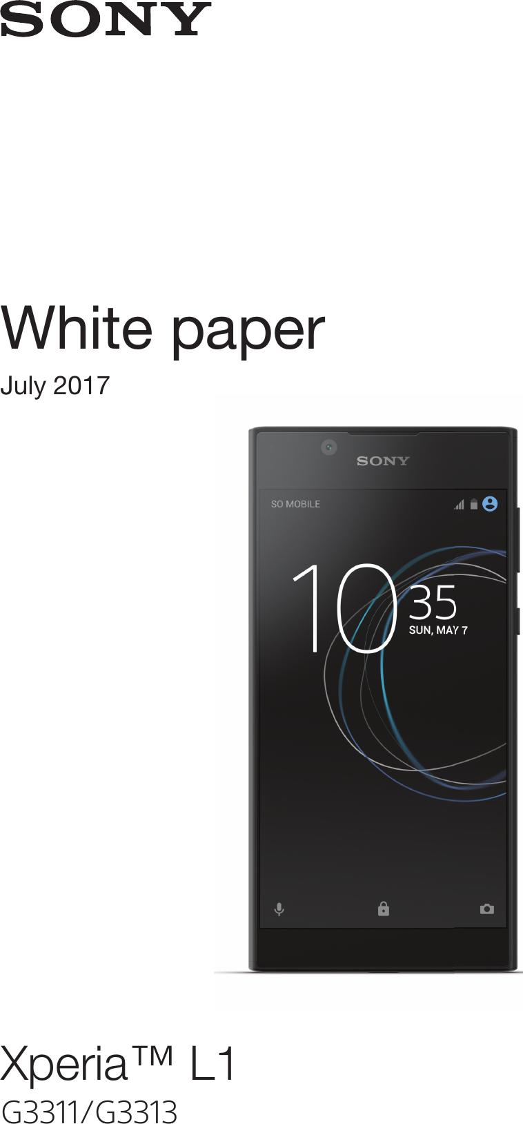 White Paper Whitepaper EN G3311 G3313 4