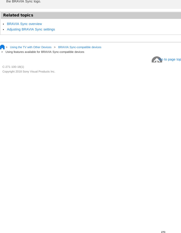 Sony XBR 55X700D Help Guide User Manual (Printable PDF) FY16