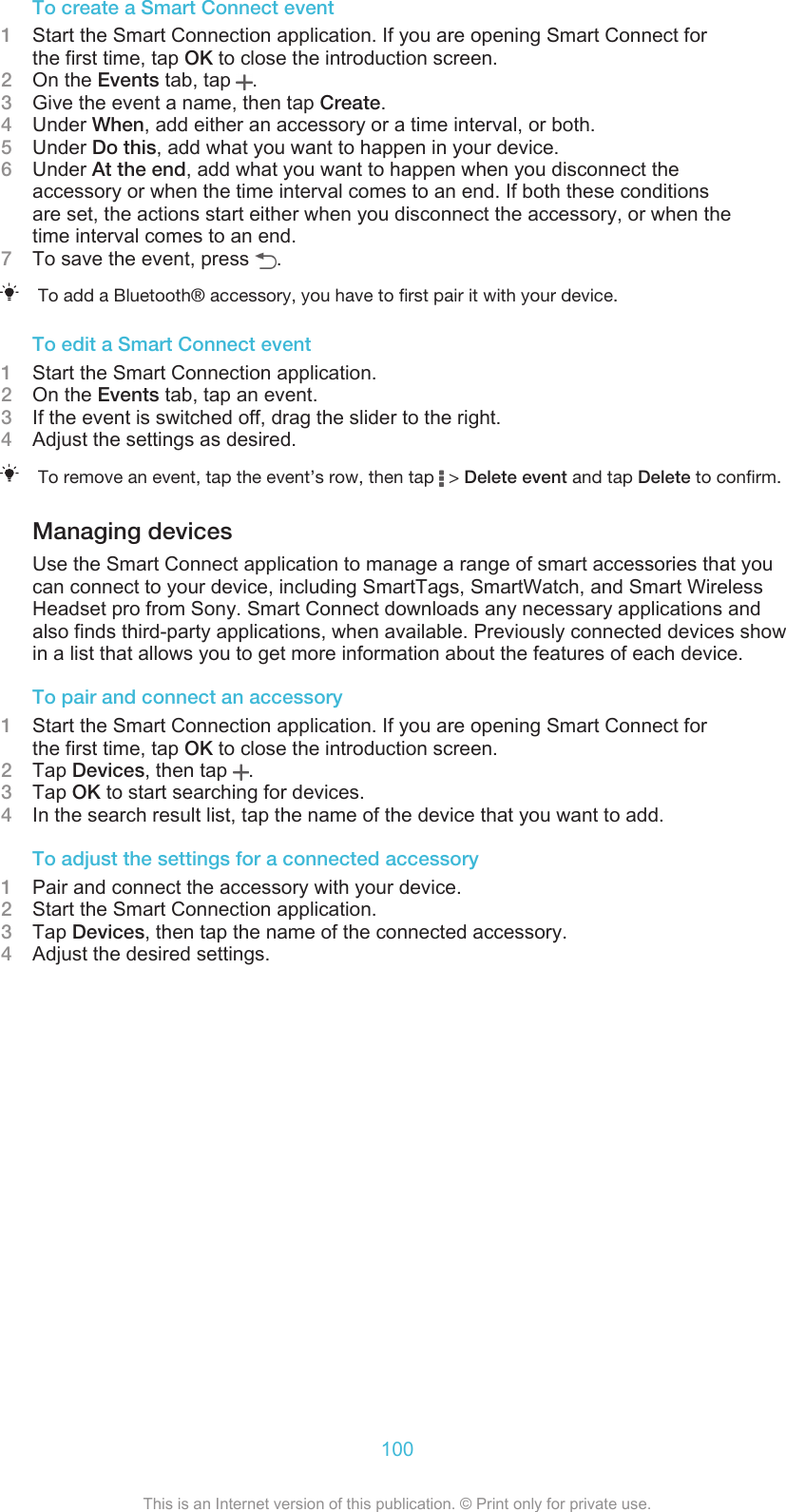 Sony Mobile Communications AB Manual Userguide AE C5302
