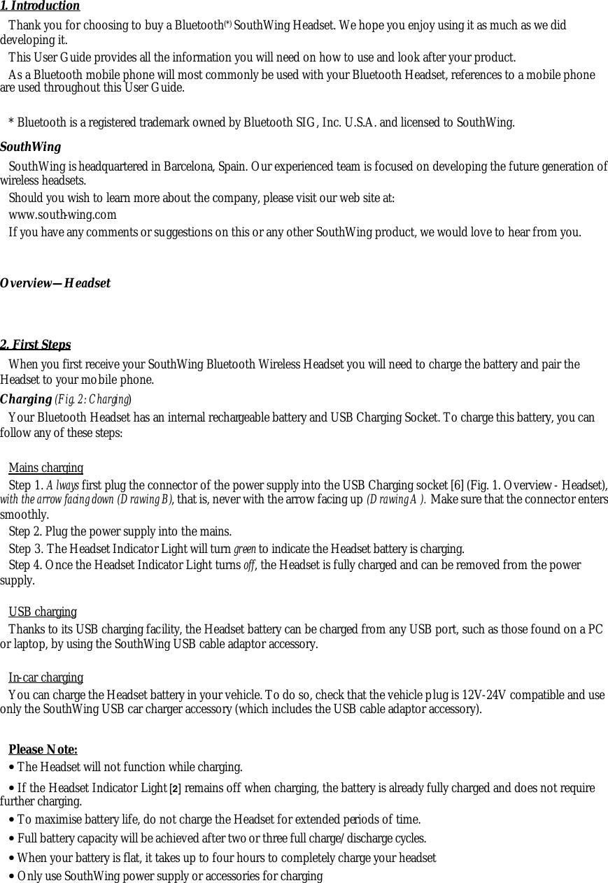 Pedr bluetooth headset user manual manual de usuario ingles _fcc_.
