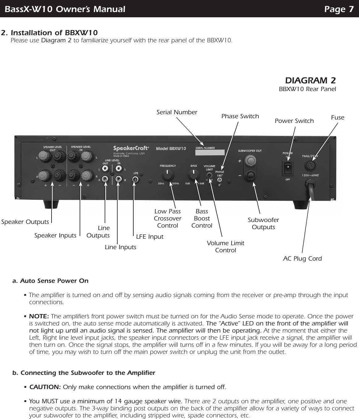 Brilliant Speakercraft Wiring Diagram Wiring Diagram Wiring Digital Resources Anistprontobusorg