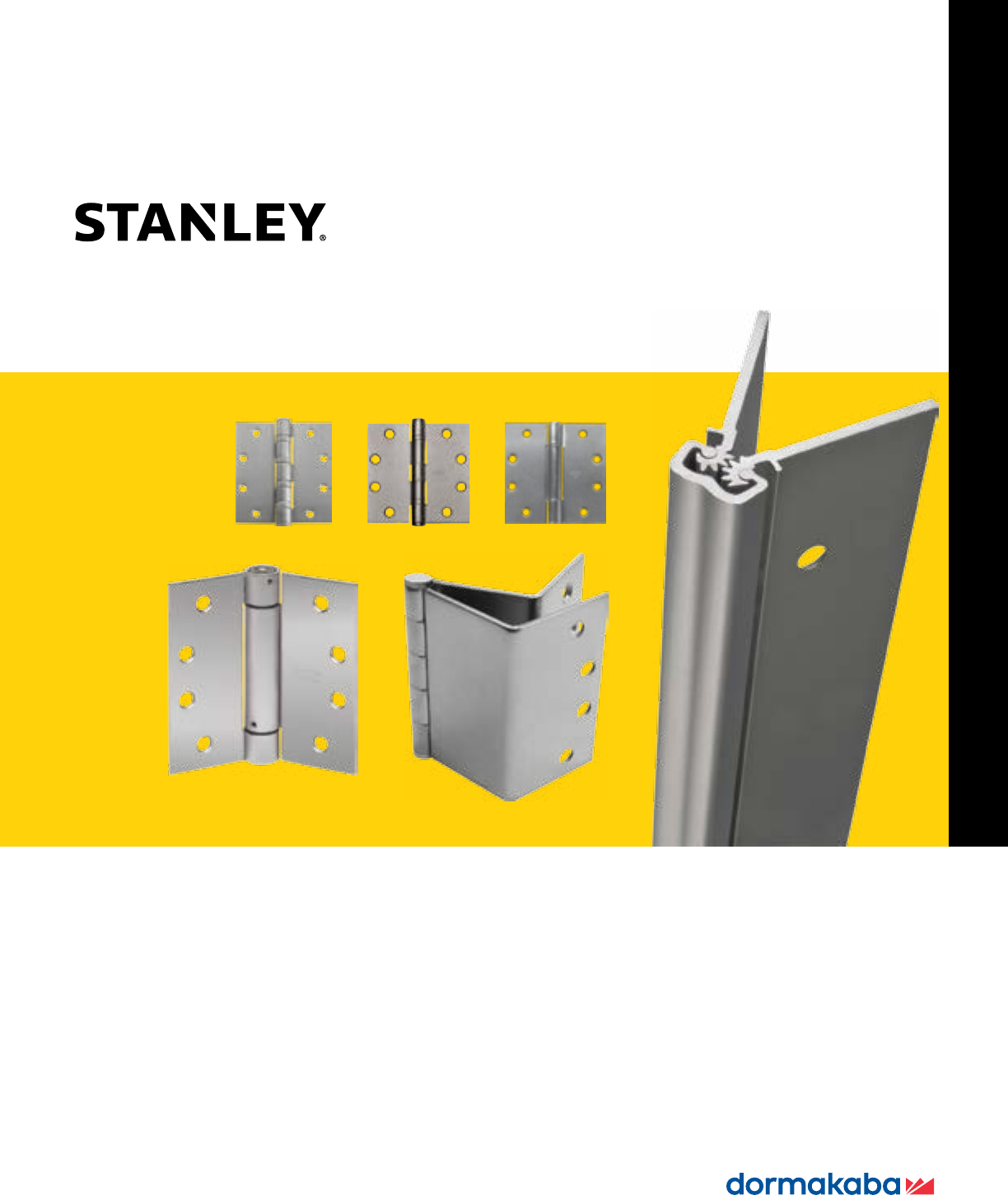 STANLEY SECURITY SOLUTIONS 651   Continuous Hinge