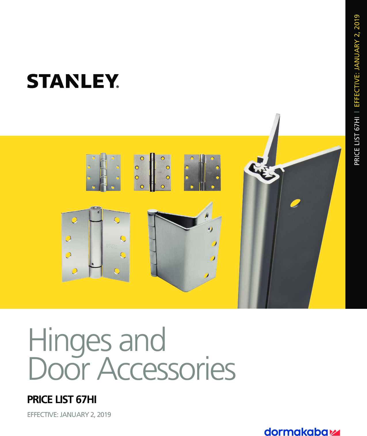 "Stanley FBB179 4.5/"" x 4.5/""  Satin-Brass-Blackened Finish *QTY 3 Butt Hinges*"