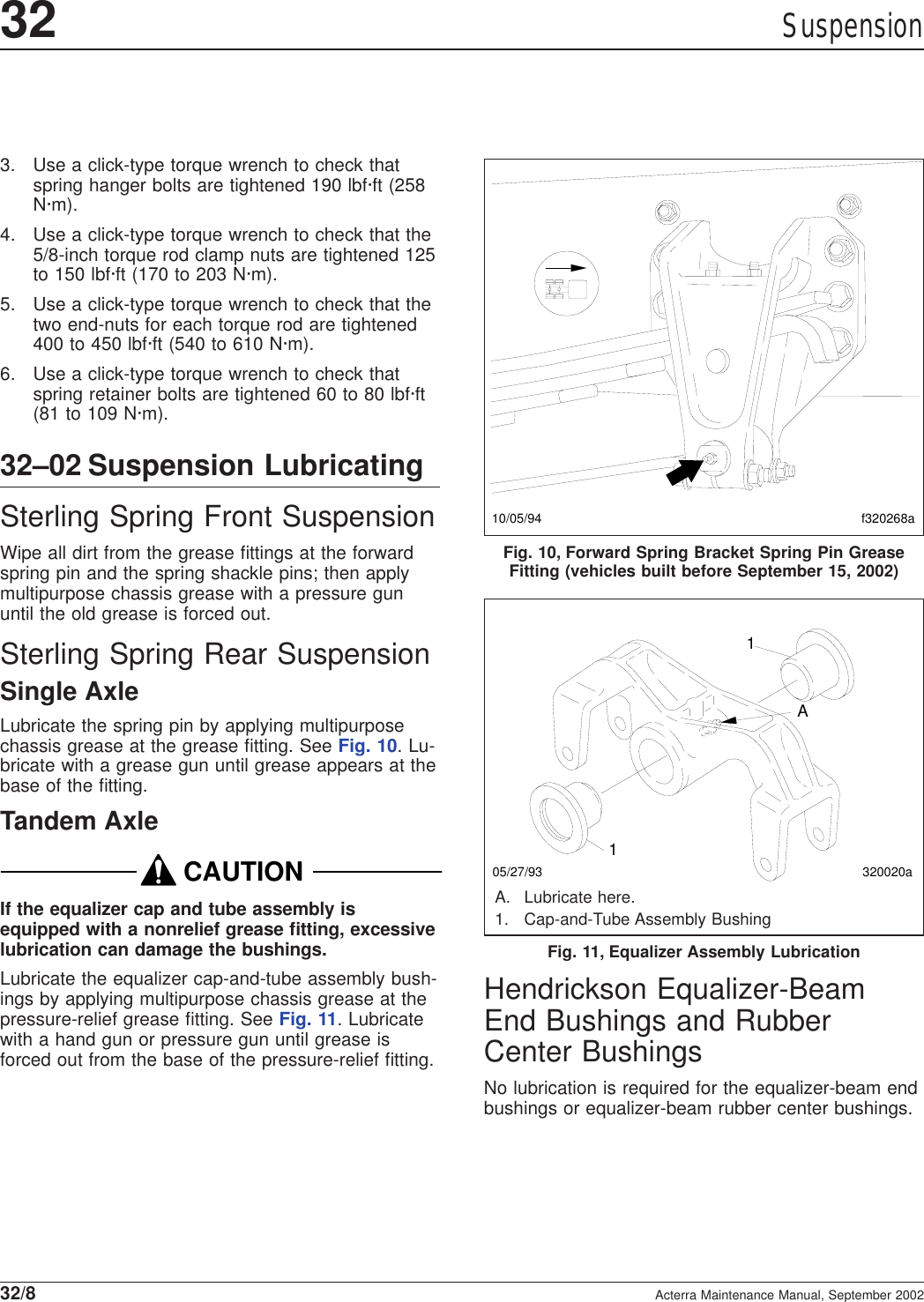 Sterling Trucks Acterra Mx Users Manual
