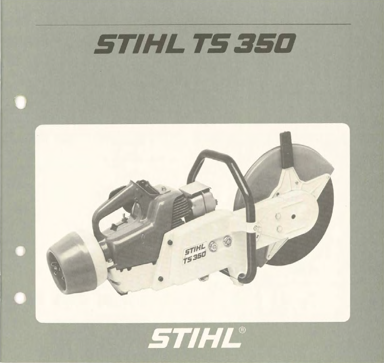 Stihl Ts350 Manual TS 510