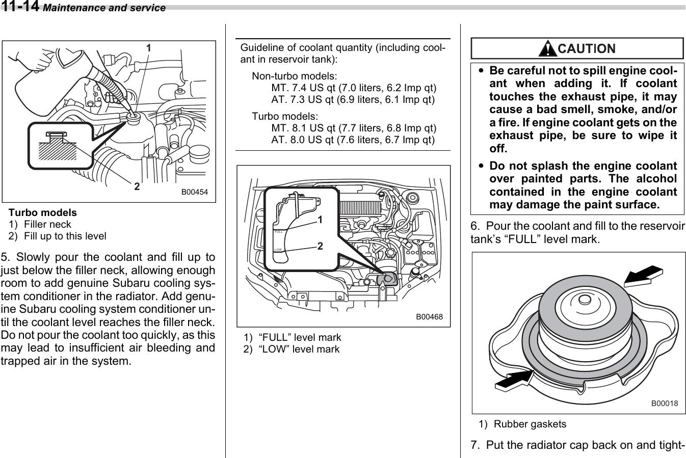 Subaru 2006 Impreza Maintenance And Service Guide