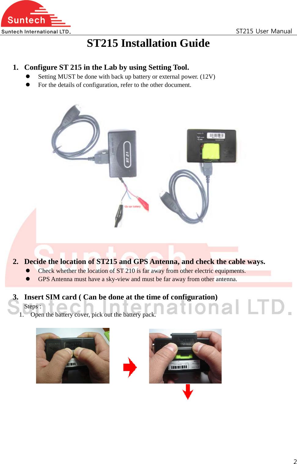 Gen3 Electric 215 352 Manual Guide