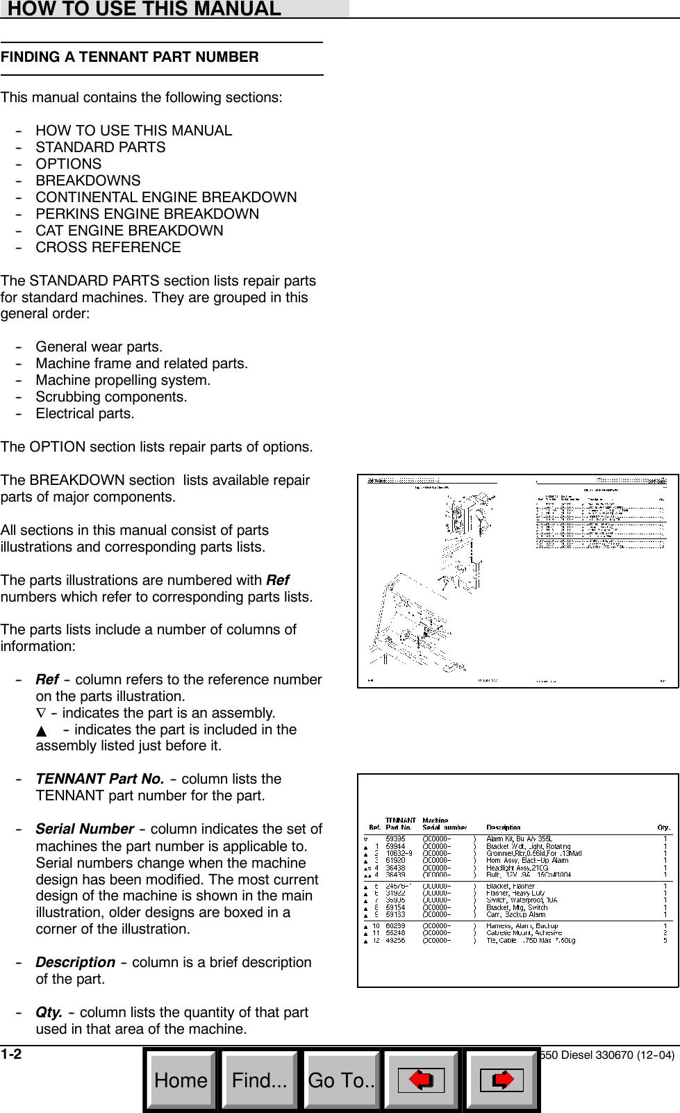 550 Diesel NA Parts Manual Sn 6115 Up