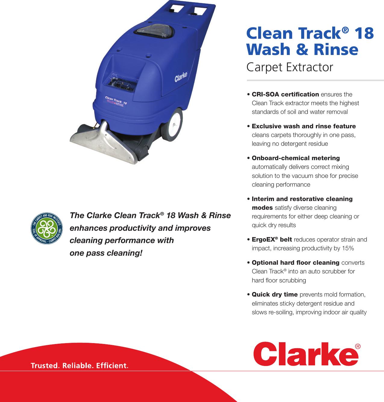 Clarke Image Carpet Extractor Carpet Vidalondon