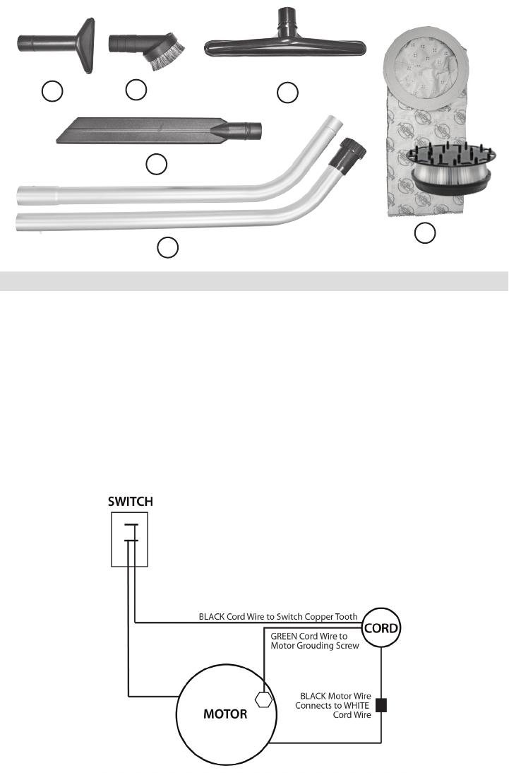 Minuteman Backpack Series Vacuum Parts And Operator Manual