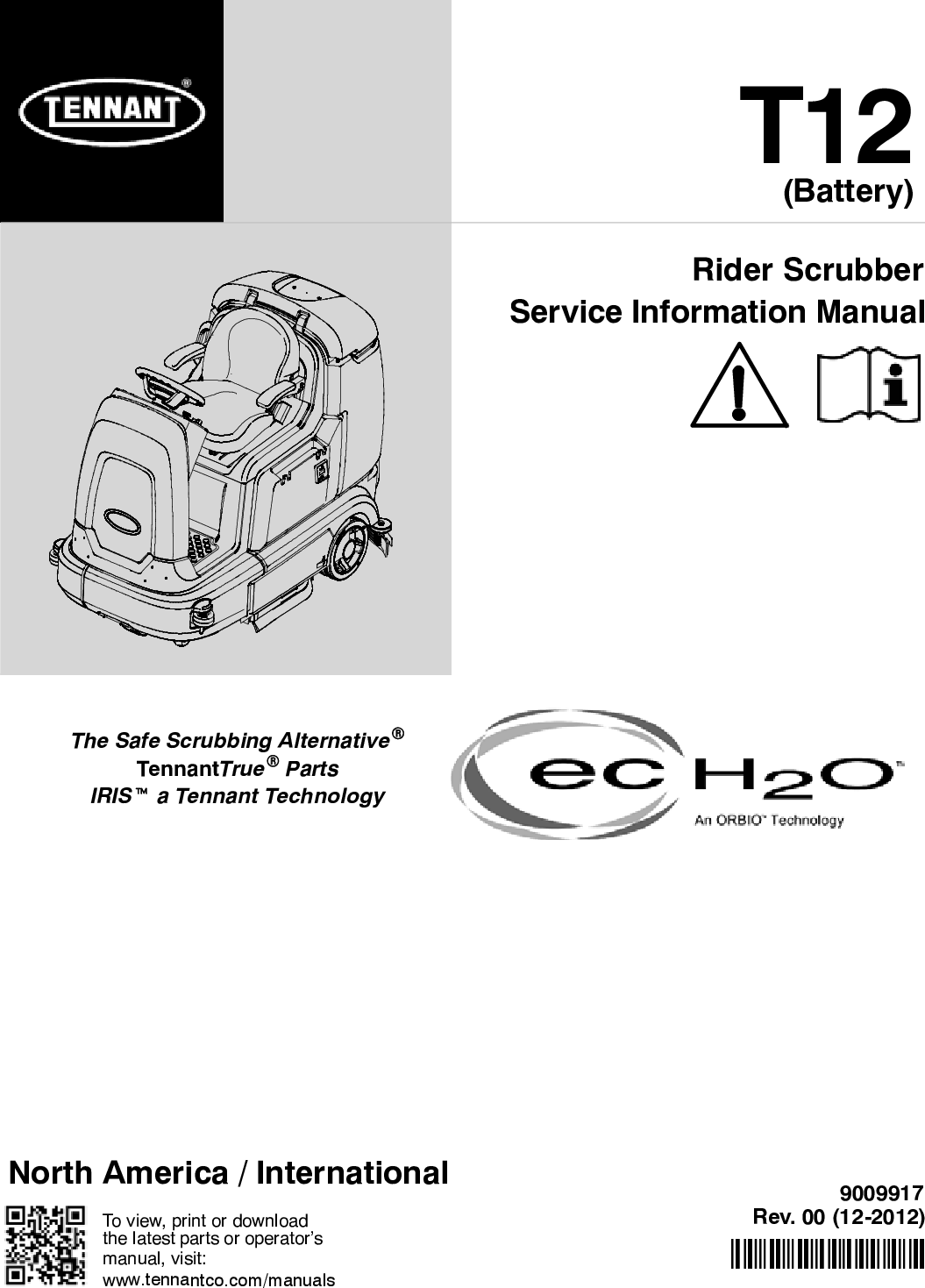 Tennant T12 Wiring Diagram Schematic Diagrams Service Manual Rider Floor Scrubber Ge Ballast