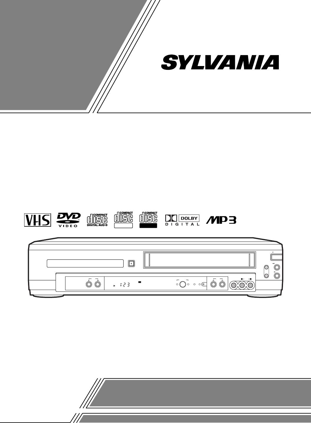 Sylvania Cdvc800D Users Manual H9404CD(EN)w_oVCD.qx33