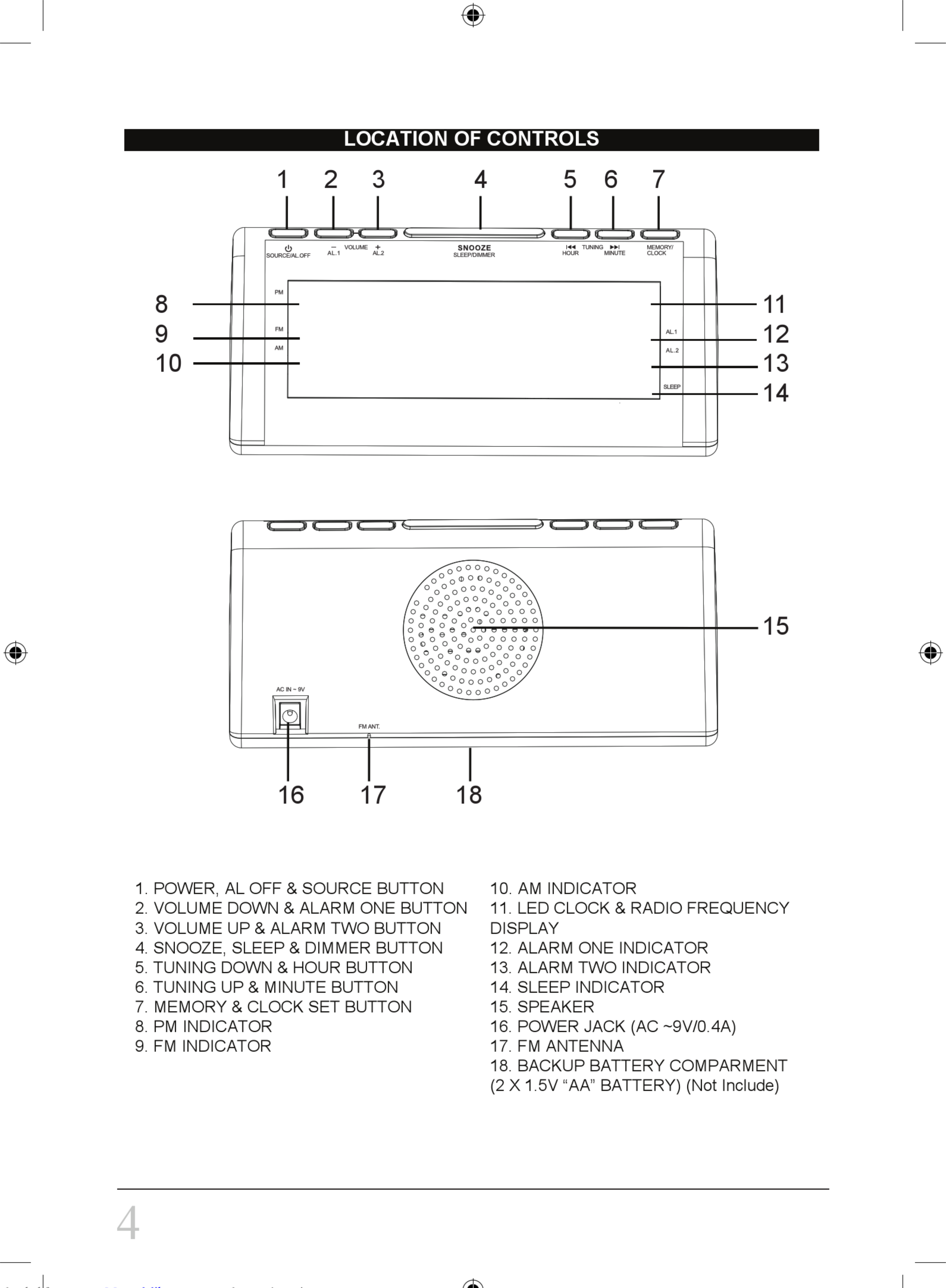 Sylvania Scr1206b Pl Instruction Manual 1003224 User Up Down Timer For A Power Antenna Page 4 Of 8
