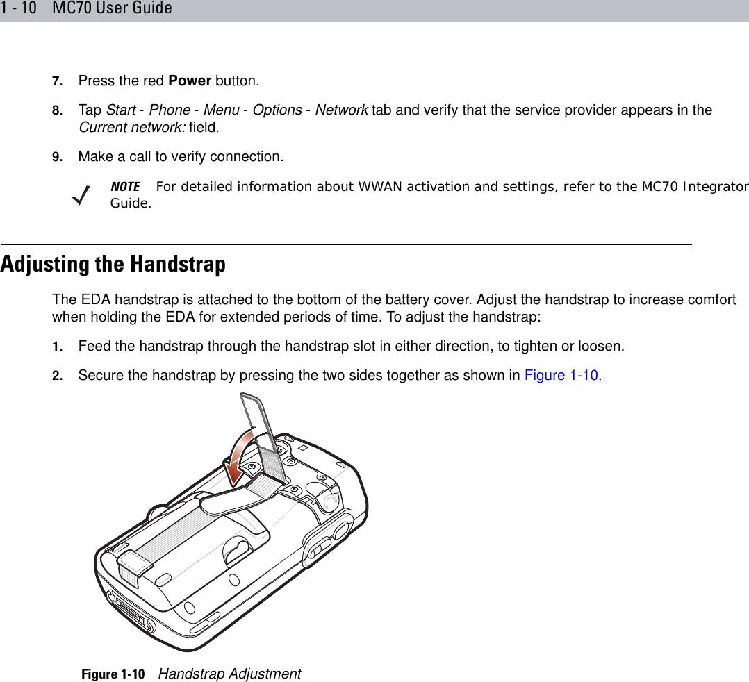 Symbol Mc70 Users Manual User Guide