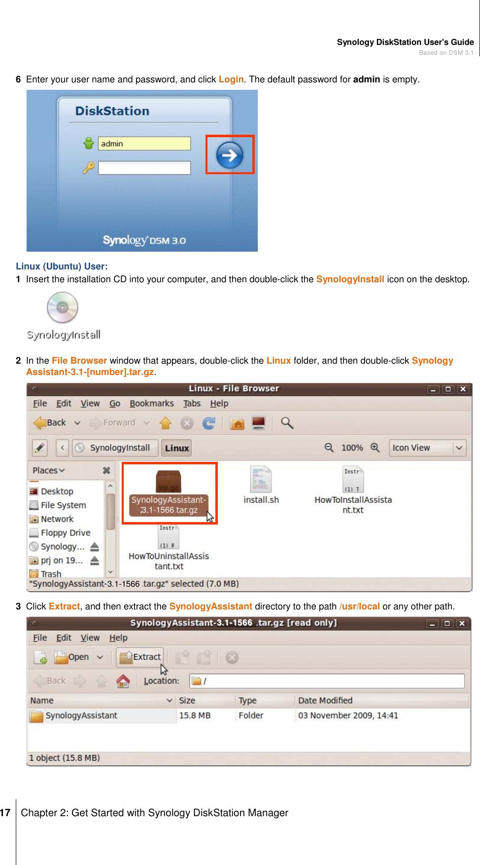 Synology Diskstation Ds411Slim Netwok Storage Server Users Manual