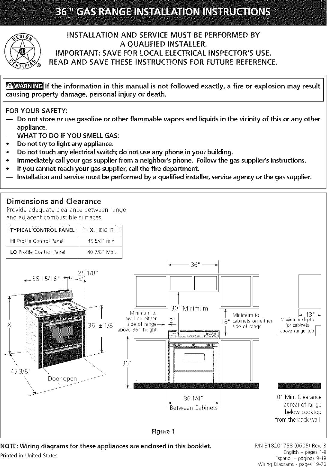tappan gas oven wiring diagram for wall tappan free standing  gas manual l0610138  tappan free standing  gas manual l0610138