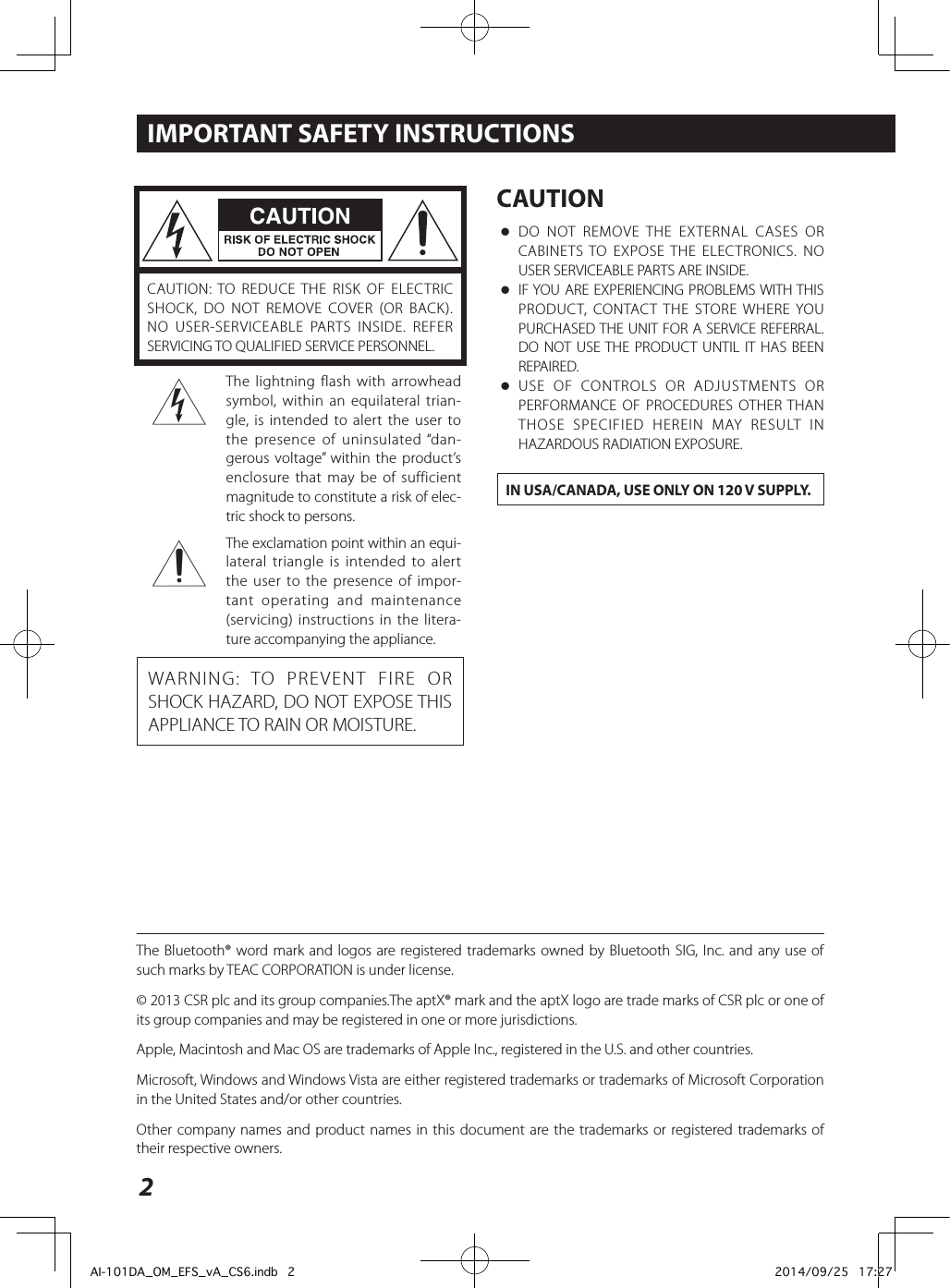 teac le4688fhd user manual Array - teac ai 101da usb dac amplifier user  manual rh usermanual wiki