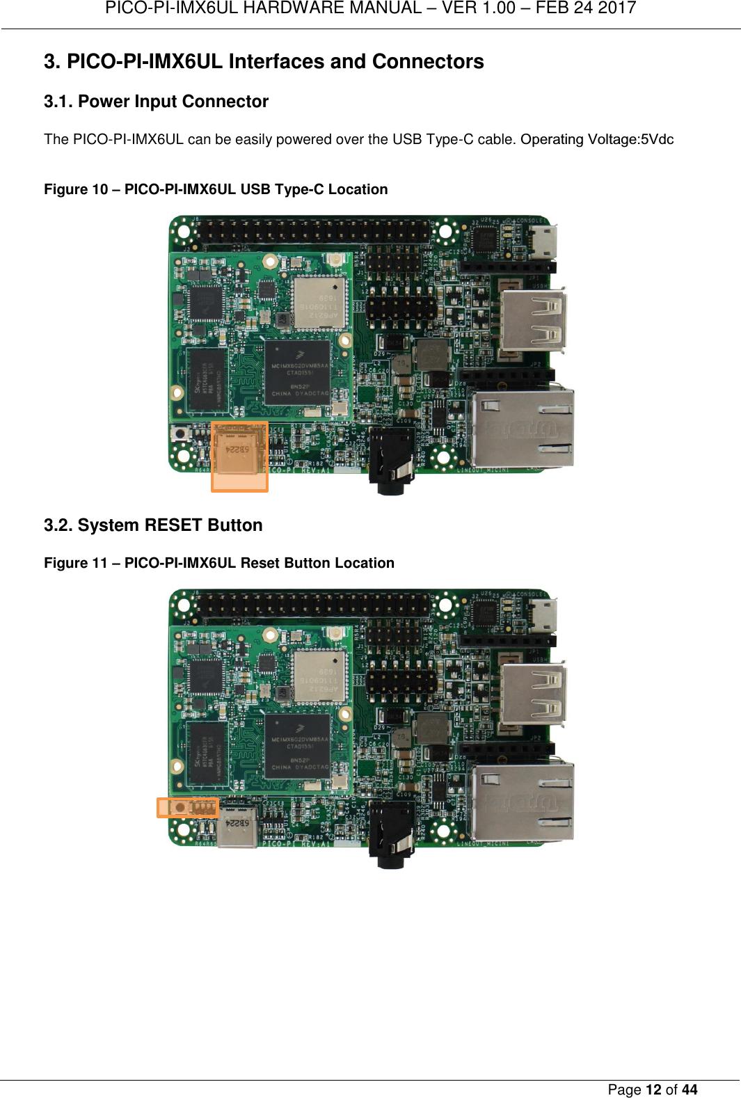 TECHNEXION PICOIMX6 WiFi+Bluetooth 4 0(HS) System on Module User Manual