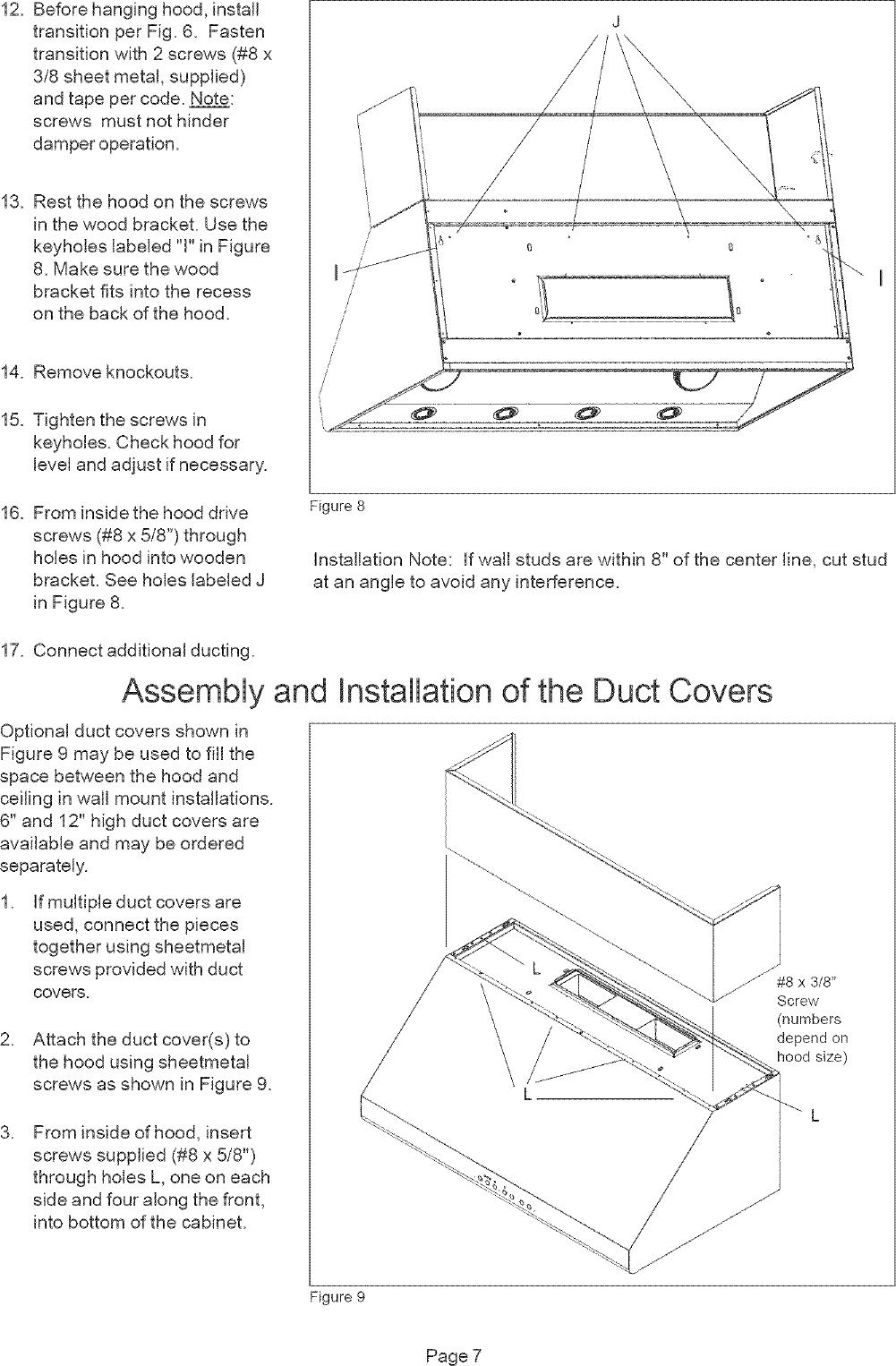 Thermador range hood manual l0512045 page 7 of 12 thermador range hood manual l0512045 asfbconference2016 Gallery