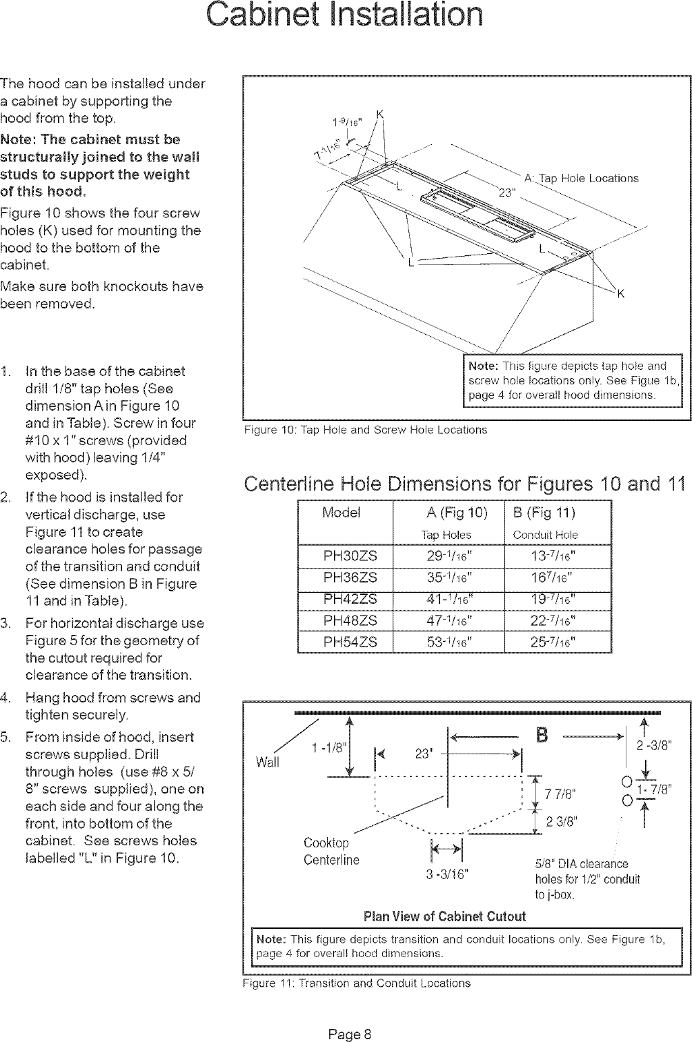 Thermador Range Hood Manual L0512045 Wiring Diagram Page 8 Of 12