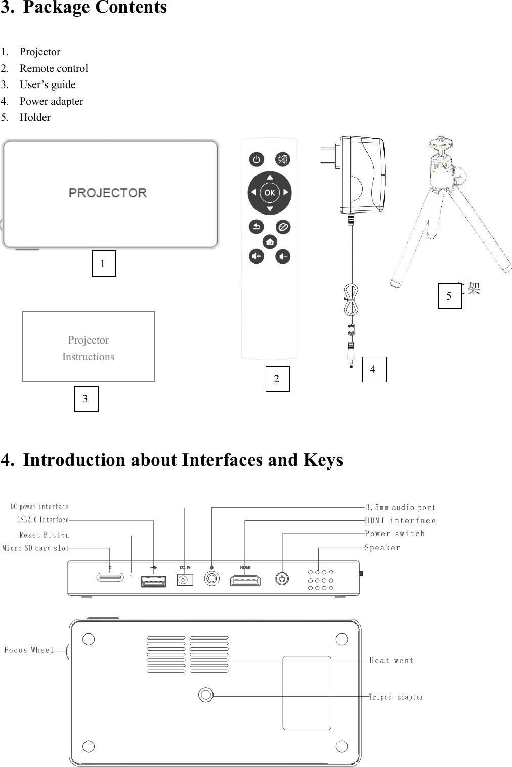 TOUMEI TECHNOLOGY C800 Projector User Manual C800