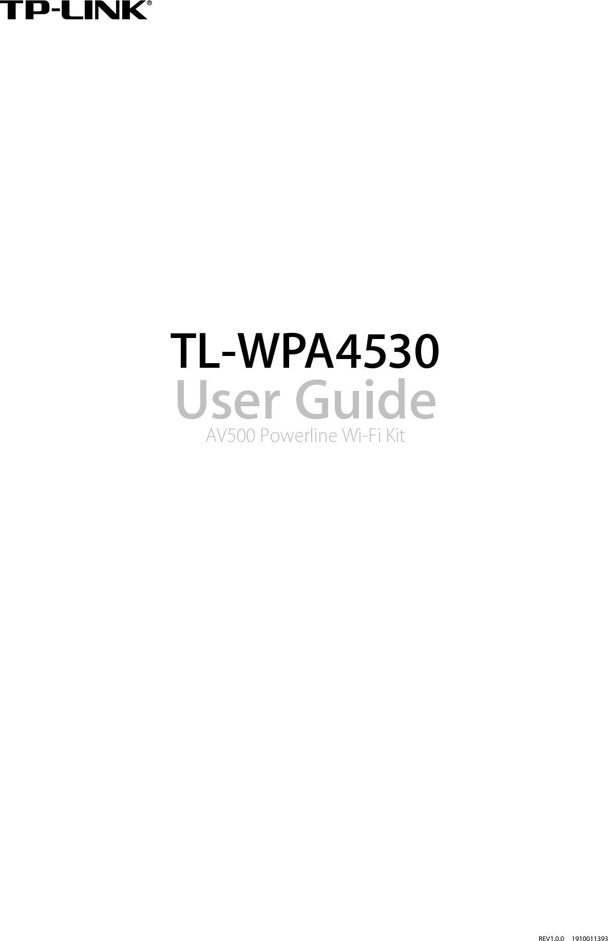 TP Link Technologies WPA4530 AC750 Wi-Fi Range Extender,AV500