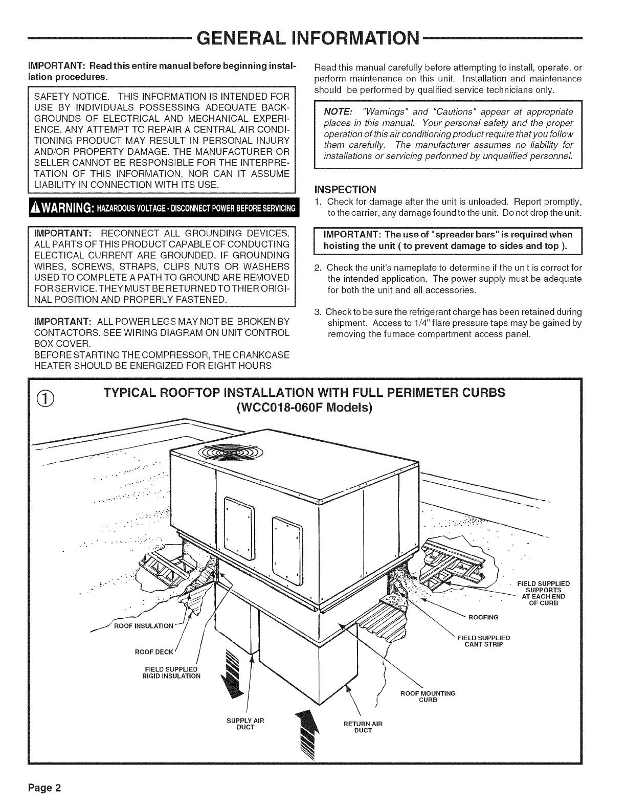 TRANE Package Units(both Units Combined) Manual L0905292UserManual.wiki