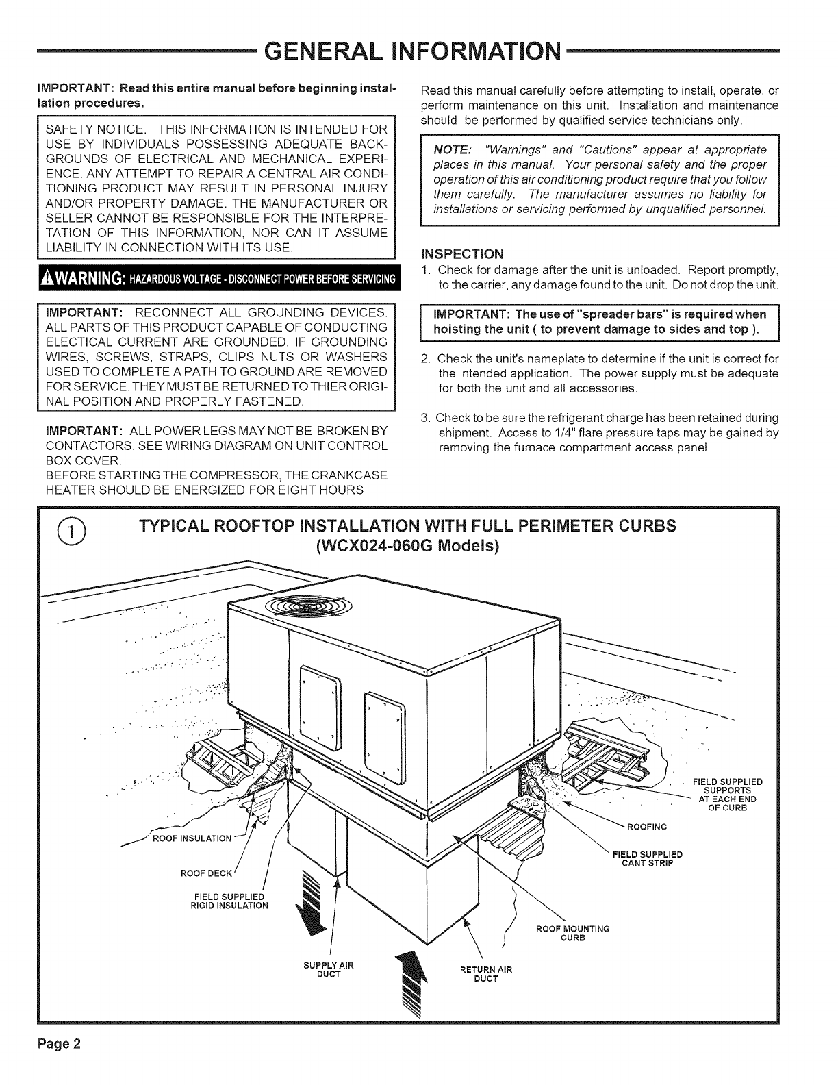 Trane Heat Pumps Wiring Diagram from usermanual.wiki