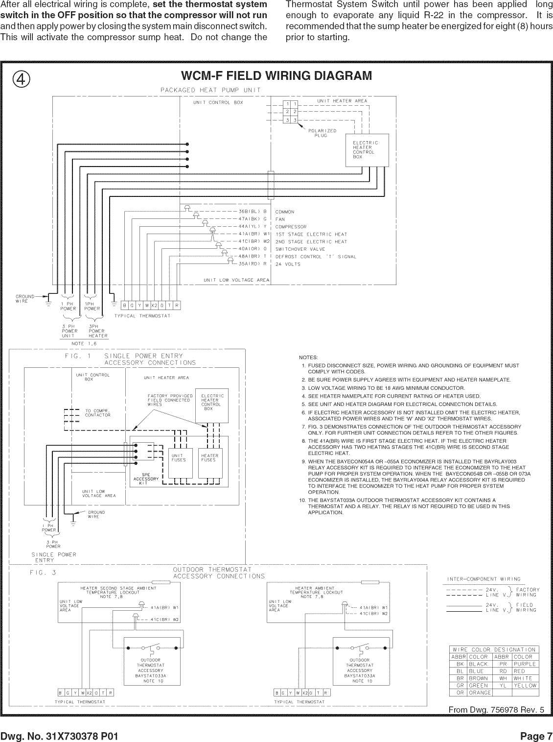 Typical Thermostat Wiring Diagram - Collection