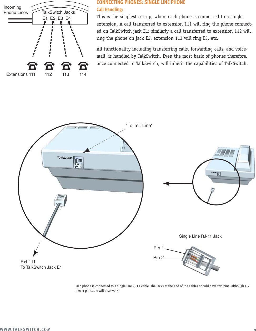 How To Wire A Phone Jack Diagram Together With Two Line Phone Jack