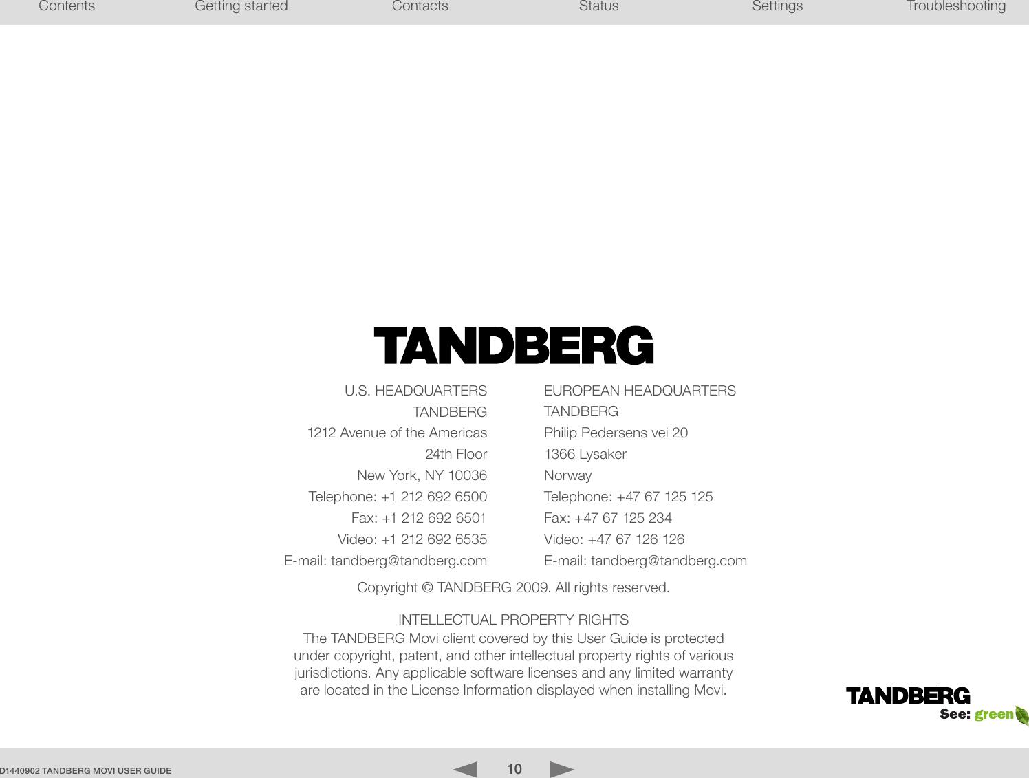 tandberg d1440902 users manual movi user guide version 3 0 rh usermanual wiki Tandberg Seleco Manual Tandberg 2025