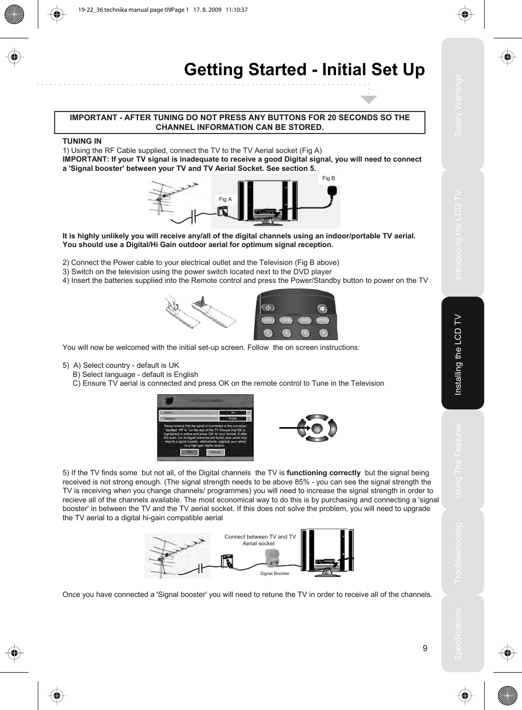 Technika Lcd22 218 Users Manual S15 4(UK)manual 01