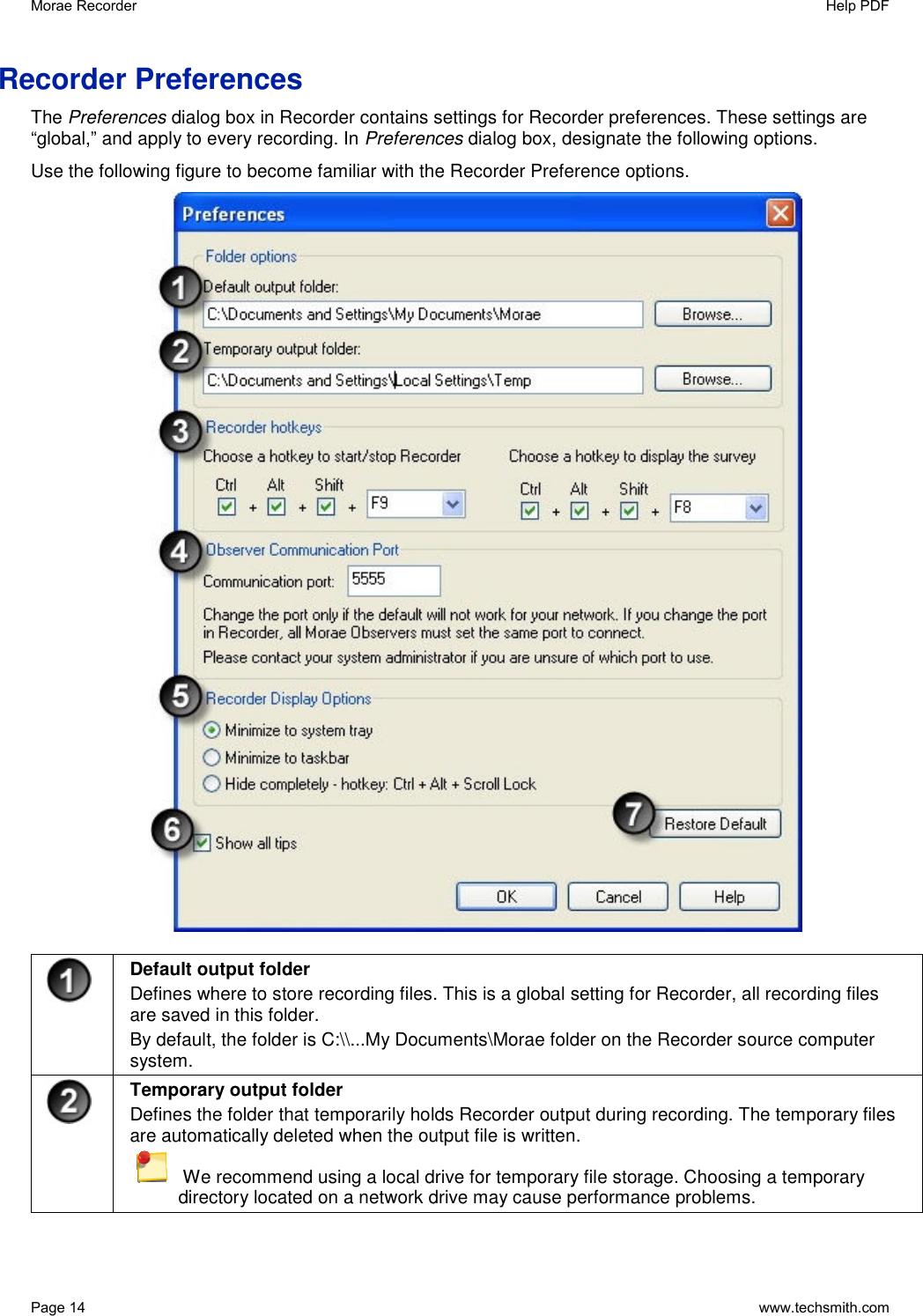 Techsmith Morae 3 Users Manual